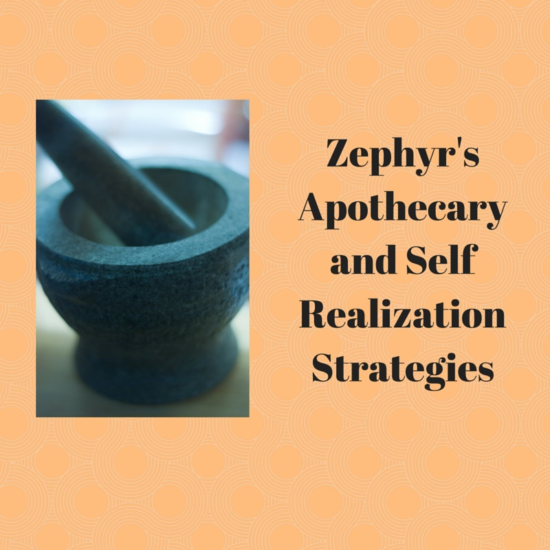 Zephyr's Apothecary and Self Realization Strategies